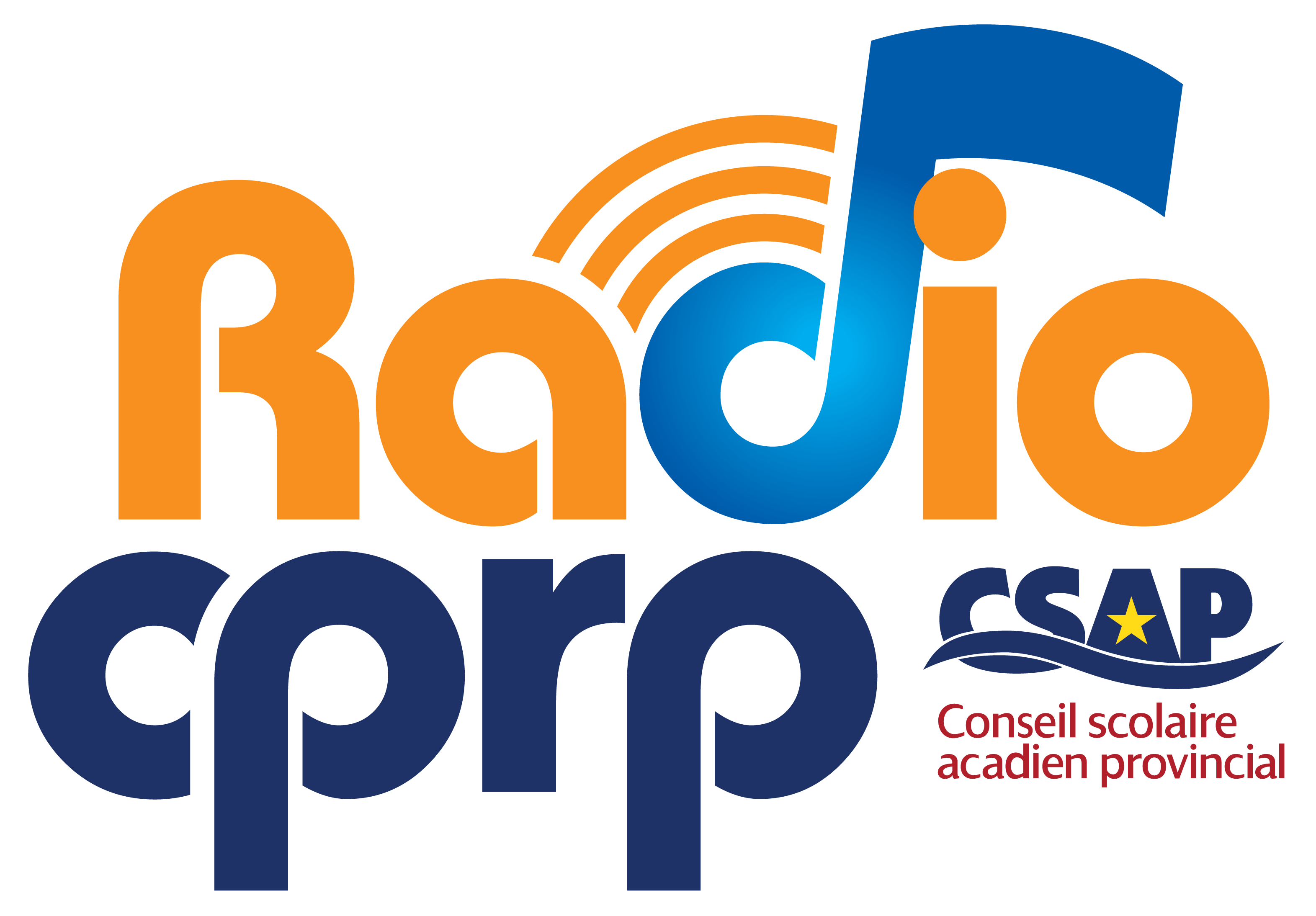 Logo RadioCPRP transp coul